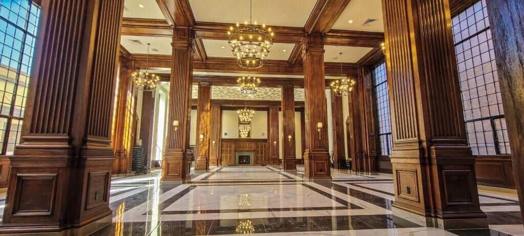 Inside Hotel Morgan