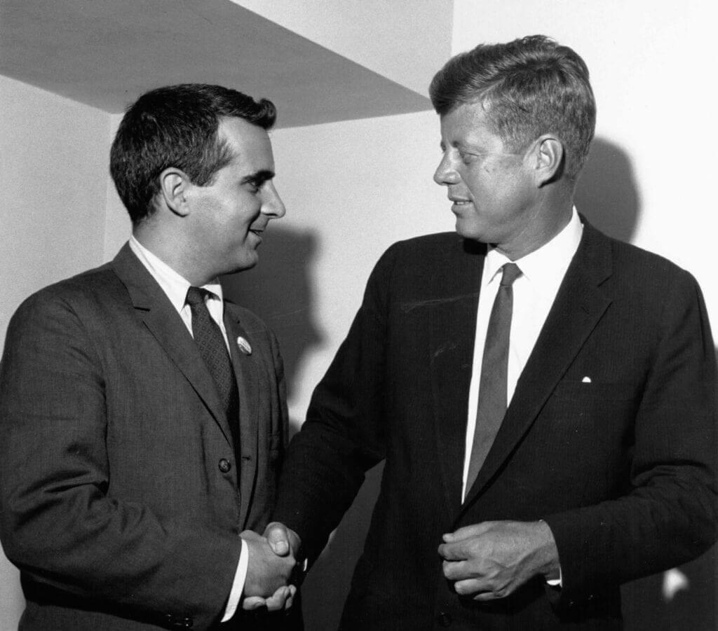 Charlie Peters and JFK