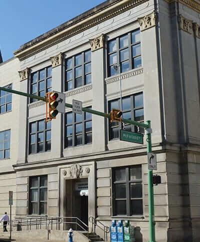 The Charleston Gazette-Mail building