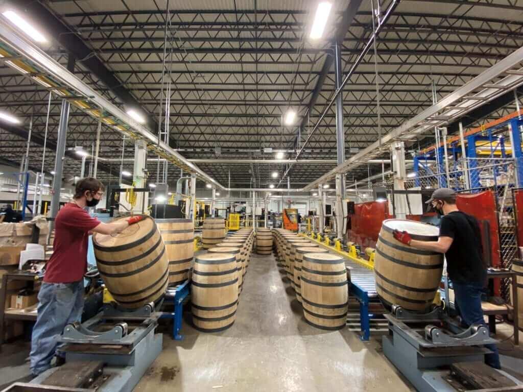 West Virginia Great Barrel Company Caldwell, WV Monroe County, WV Barrel Barrelmaking WV barrel