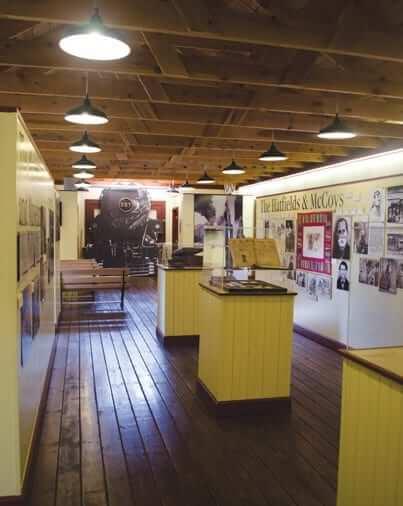 Inside Matewan Depot