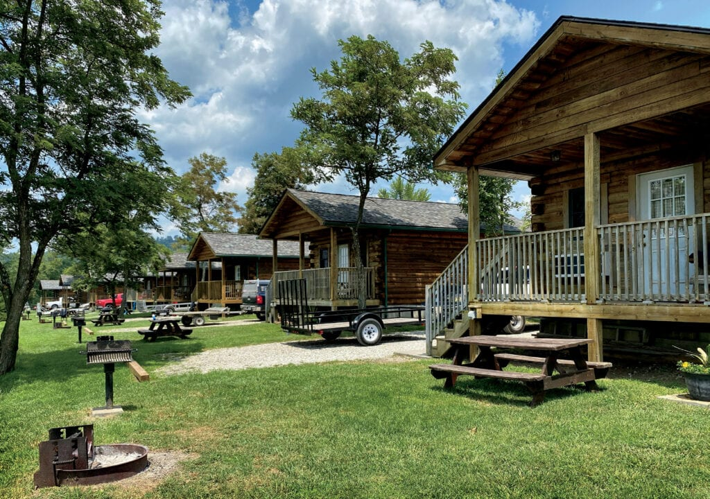 Cabins at Twin Hollow Campground