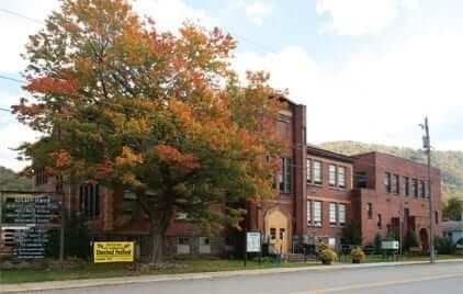 school building in Rowlesburg